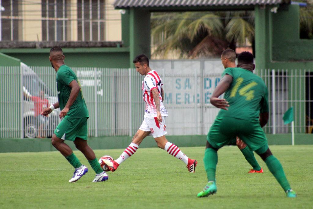 Marcos Junior teve boa participação contra o Boavista (Foto: João Carlos Gomes/Bangu)