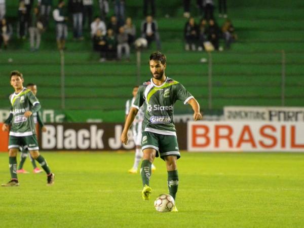 Zagueiro foi campeão da Copa Verde 2017 com o Luverdense (Foto: Divulgação)